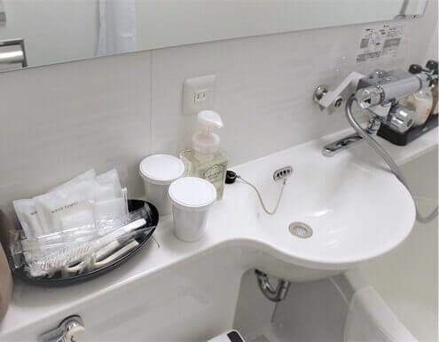 清掃後の浴室の写真