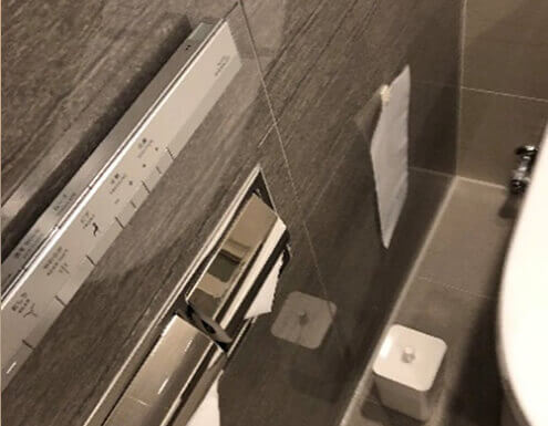 ホテル清掃トイレのイメージ写真